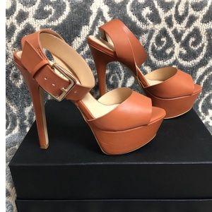Tan 5inch Heel from Shoe Dazzle